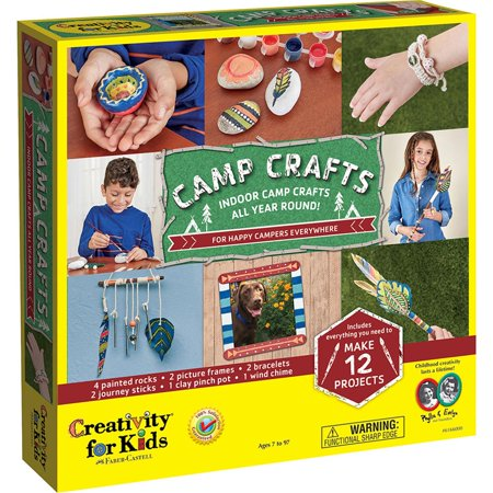 Camp Crafts - Craft Kit by Creativity For Kids (6166) (Camp Crafts)