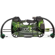 Barnett Sports & Outdoors Tomcat Green Beginner's Compound Hunting & Archery Bow with Limbs