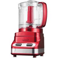 Brentwood Appliances 3 Cup Mini Food Processor in Red