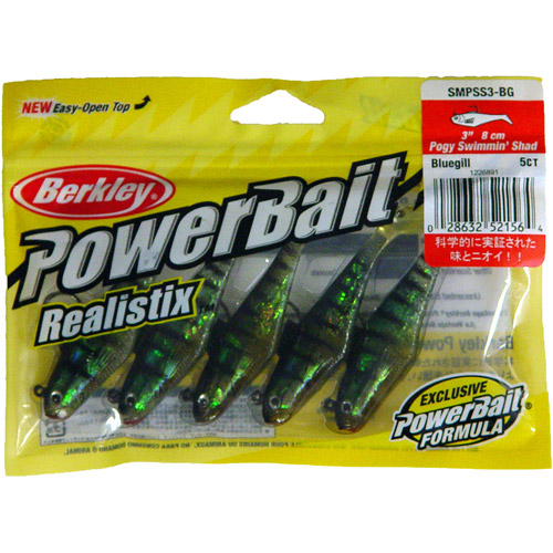 PowerBait Pogy Swim Shad