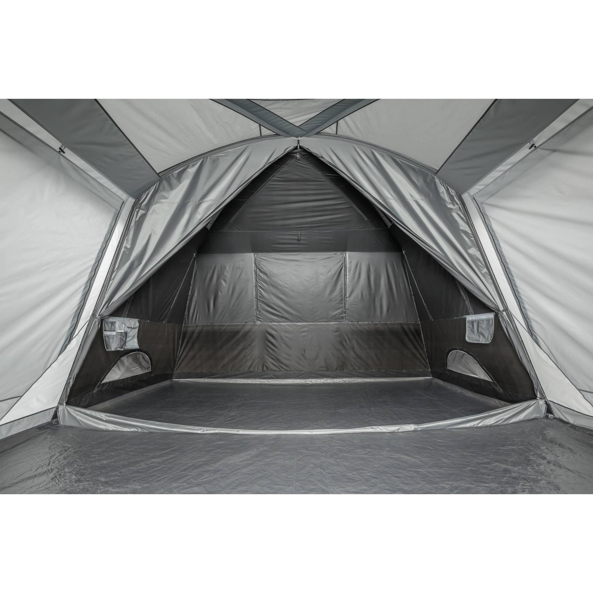 Ozark Trail 14  x 12  Half Dark Rest Frp Cabin Tent ebda7f3a55