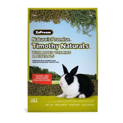 American Distribution & Mfg 95050 Nature's Promise Rabbit Food, Pellets, 5-Lbs. by AMERICAN DISTRIBUTION & MFG CO