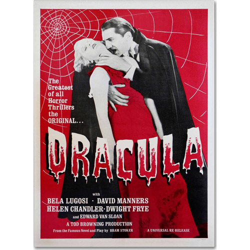 "Trademark Fine Art ""Dracula"" Canvas Art by Vintage Apple Collection"