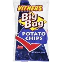 Vitner's Big Bag Potato Chips, 9 Oz.