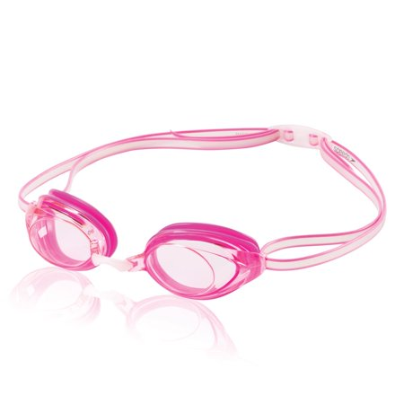 Pink Swimming Goggles - Speedo Junior Vanquisher 2.0 Swim Swimming Competition Stylish Goggles Pink