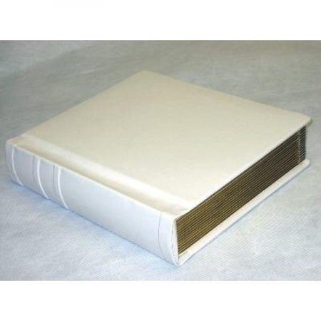 Professional 8x10 Ivory Slip In Weddingparent Photo Album Holds 30