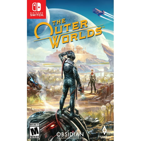 The Outer Worlds, Take 2, Nintendo Switch, 710425555176