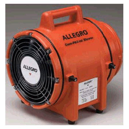 Allegro COM-PAX-IAL 115 V 3 A 1/3 hp 831 CFM Polyethylene DC SubmersibleAC Explosion Proof Blower Without Canister