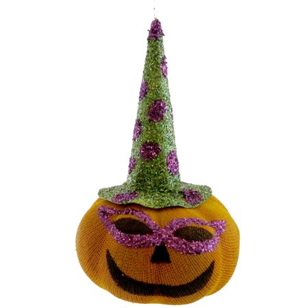 Halloween PUMPKIN FACED ORNAMENT