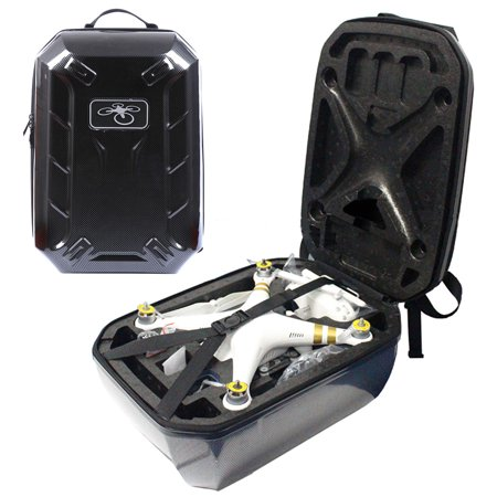 Hard Carry Shoulder Backpack Box Case For DJI Phantom 3 Pro Advanced Black~~~