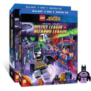 Lego: DC Comics Super Heroes Justice League Vs. Bizarro League (Blu-ray + DVD + Digital HD With Ultraviolet + Batzarro... by