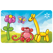 Balloon Animals Walmart eGift Card