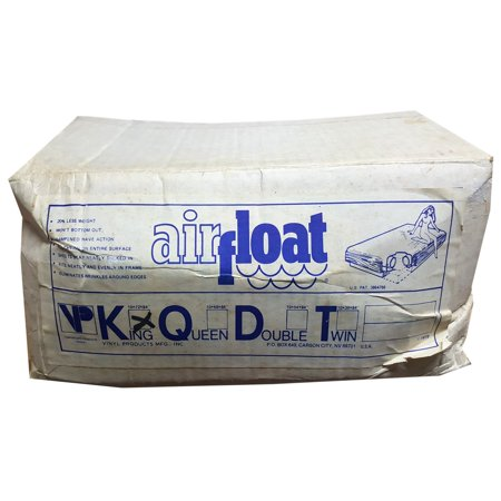 Vintage 1979 Airfloat Waterbed Mattress King Size by Vinyl ...