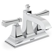 Speakman Rainier Double Handle 4-Inch Centerset Bathroom Faucet, Polished Chrome