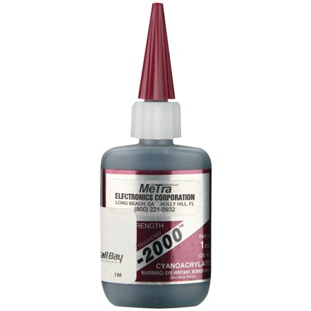 Install Bay IC 2000 Instant Rubber Tough Black Glue 1oz