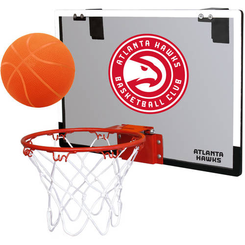 Rawlings NBA Game On Polycarb Hoop Set Atlanta Hawks