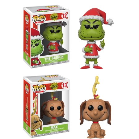0b3b7d30e1f Funko POP! Books The Grinch Collectors Set  Santa Grinch (Possible Chase  Limited Color Variant)