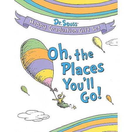oh the places you ll go dr seuss happy graduation gift set