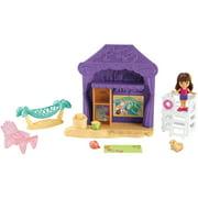 Fisher-Price Dora and Friends Playa Verda Cabana Playset