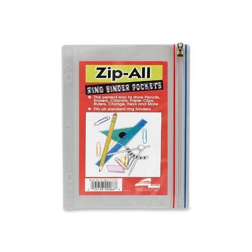 Anglers Zip-All Ring Binder Pockets ANG52