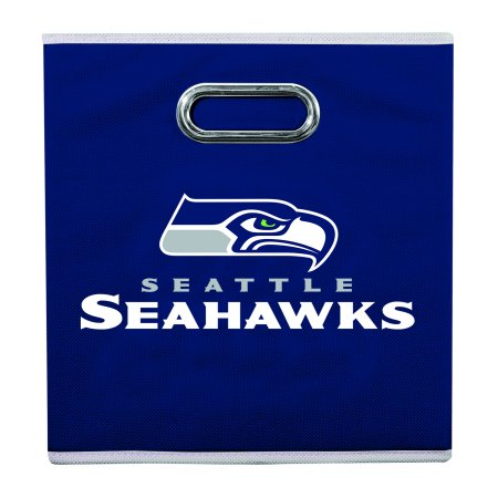 Franklin Sports NFL Seattle Seahawks Collapsible Storage Bin