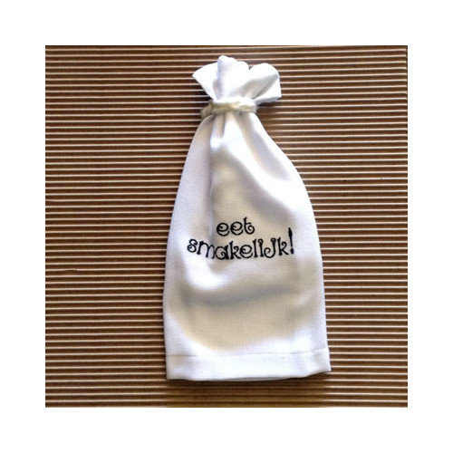 Samantha Grace Designs Eet Smakelijk Hand Towel