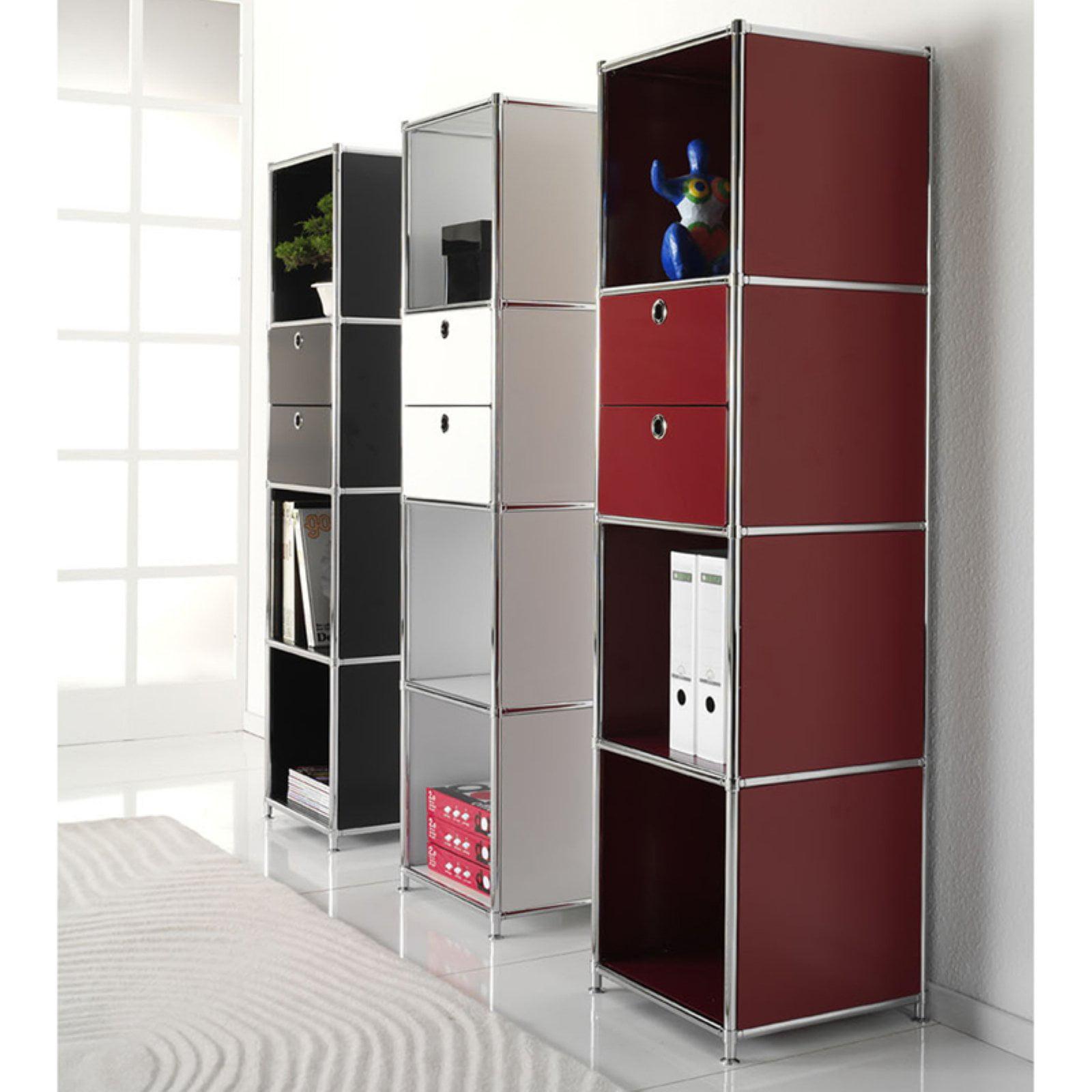 SYSTEM4 Elite Modular Slim-Line Bookcase
