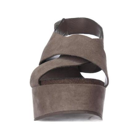 d63ca0327cd STEVEN by Steve Madden Genesis Wedge Criss-Cross Sandals