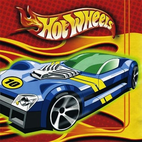 Hot Wheels 'High Performance' Lunch Napkins (16ct)