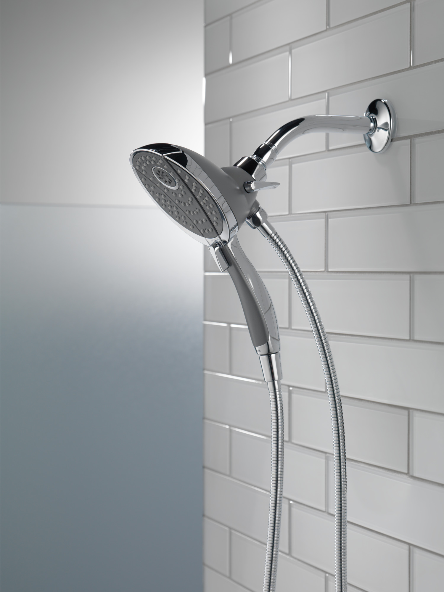 Delta 4 Spray Hand Shower And Shower Head Combo In Chrome