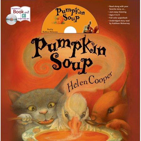 Halloween Recipes Pumpkin Soup (Pumpkin Soup Storytime Set)