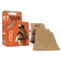 KT Tape Pro Precut Strips, Stealth Beige - 20 CT