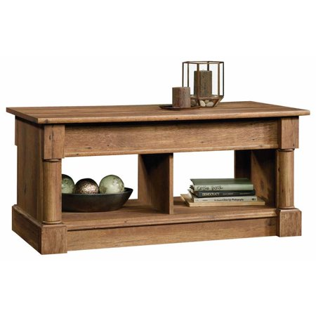 Sauder Palladia Lift Top Coffee Table Vintage Oak Finish
