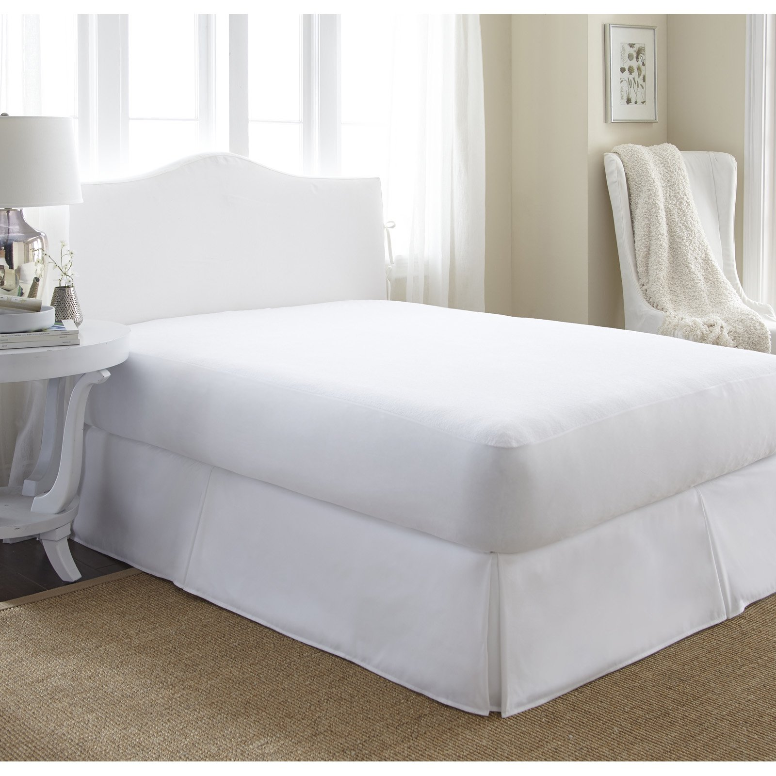 Simply Soft Waterproof Terry Cotton Top Mattress Protector by ienjoy Home