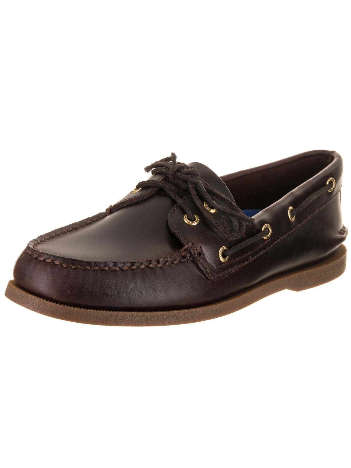 sperry top-sider men's authentic original boat shoe,amaretto,7.5 m us