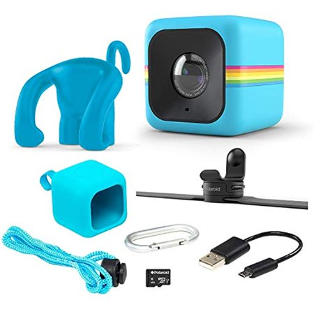 Polaroid Cube Act II – HD 1080p Mountable Weather-Resistant Lifestyle Action Video Camera & 6MP Still Camera w/Image Stabilization, Sound Recording, Low Light Capability & Other Updated
