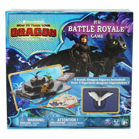 Dreamworks, How to Train Your Dragon, The Hidden World, Battle Royale Game for Kids, Teens, and Adults (Dragon Games For Kids)