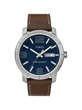 Men's Mod 44 Brown/Blue Watch, Leather Strap