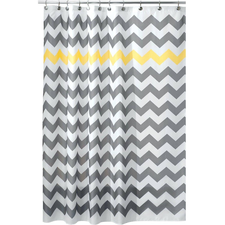 Interdesign Chevron Fabric Shower Curtain Standard 72 X 72