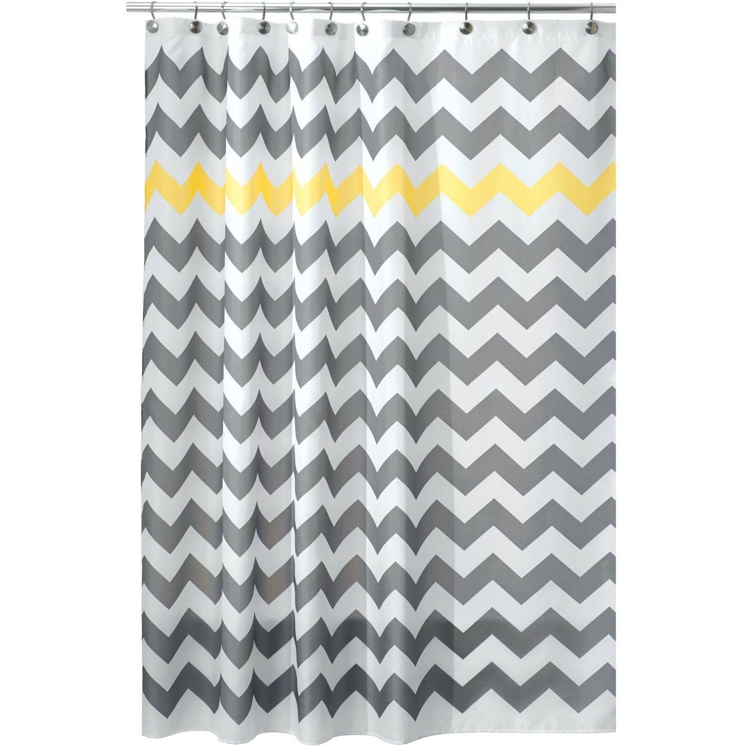 InterDesign Chevron Fabric Shower Curtain, Various Sizes & Colors