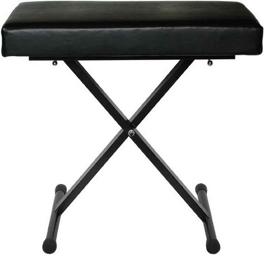 Audio2000 AST4373 Quick Position Adjustment Keyboard Bench (Foam Padded... by AUDIO2000S TM