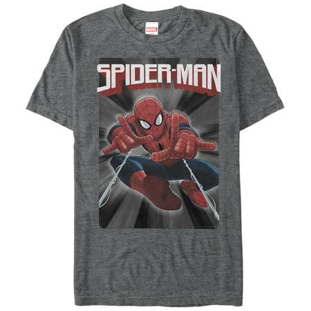 Marvel Men's Web Shooter Spider-Man T-Shirt
