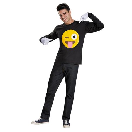 Morris Costumes DG86785 Emoticon Tongue Kit Costume