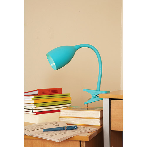 Your Zone Get a Grip Clip Lamp, Peacock Plume