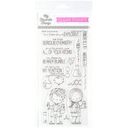 """My Favorite Things Birdie Brown Stamps 4""""X8""""-Cute Chemists"""