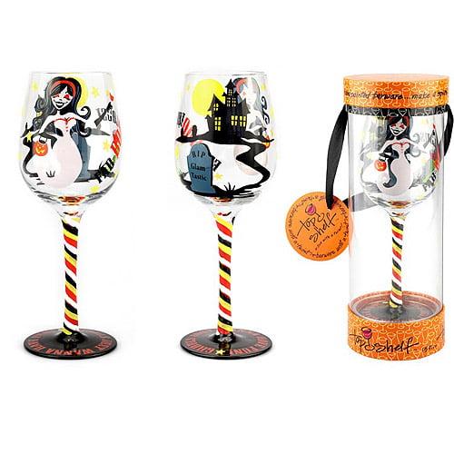 Fab-boo-lous Wine Glass