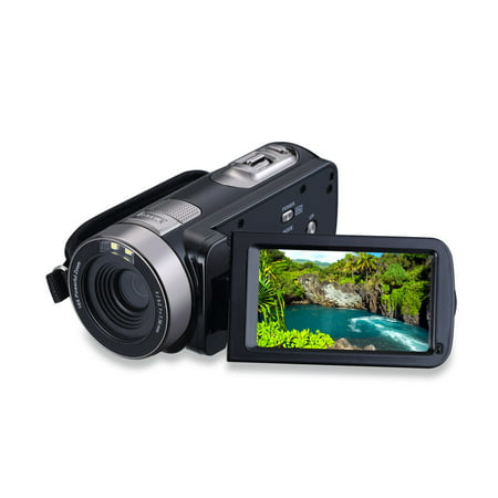 HD  Digital Camera  CMOS Sensor 3.0 inch TFT Flash 24.0 MP FHD LCD Rotation