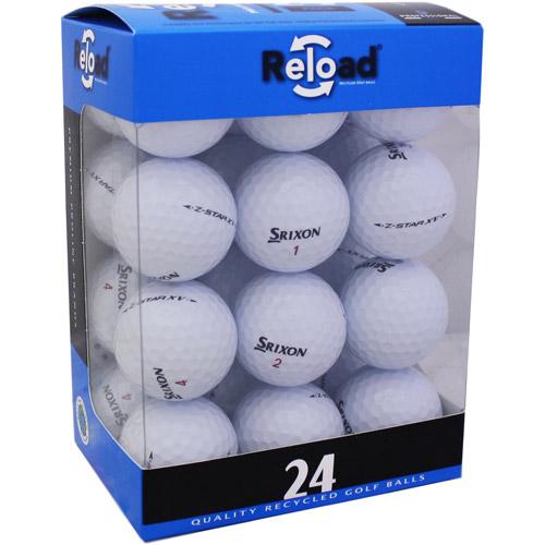 Reload Recycled Golf Balls 24pk Recycled Z Star XV Golf Balls