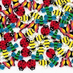 Fun Express - Mini Insect Erasers (1-Pack of 144) (Erasers Fun)