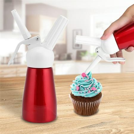 Dessert Whip - 250mL Cream Dispenser, Household Homemade Whipped Dessert Butter Cream Foam Maker